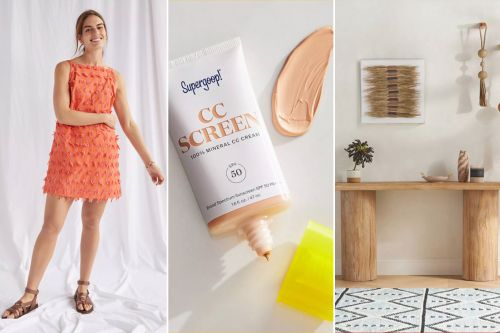 Take 20% off entire purchase during Anthropologie's 'Anthro Day' sale