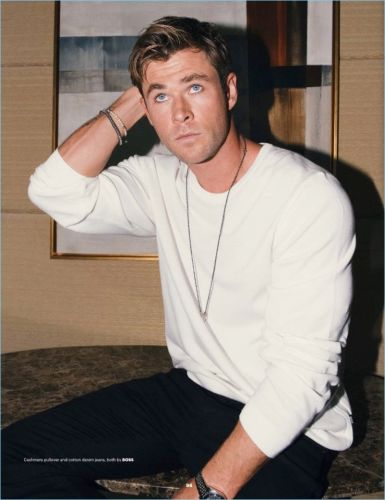 Chris Hemsworth Covers Esquire Singapore, Dons BOSS for Shoot