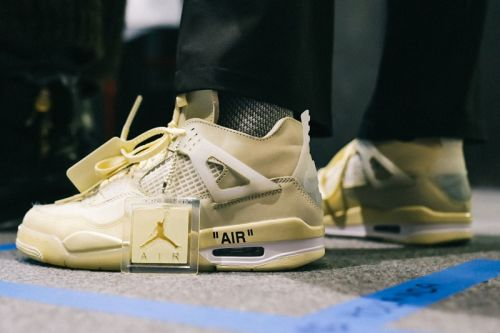 Closer Look at Off-White™ x Air Jordan 4