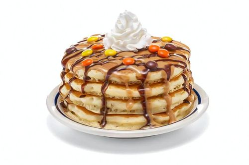 IHOP Whips up New Reese's Pieces Pancakes and Mummy Burrito