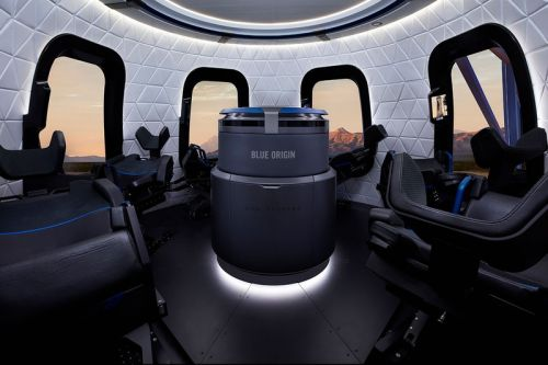 First Seat on Blue Origin's Upcoming Space Tourism Flight Sells for $28 Million USD