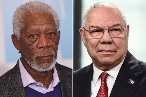 Morgan Freeman set to play Colin Powell in biopic