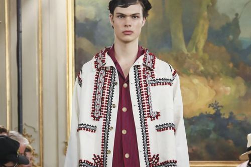 Bode Adapts Tailoring Staples in Artistic Paris Fashion Week SS20 Show