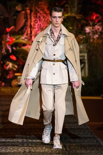 Dolce & Gabbana Tackles Tropical Safari Style for Spring '20 Collection