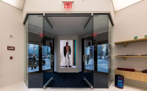 Richard James opens first store in New York City