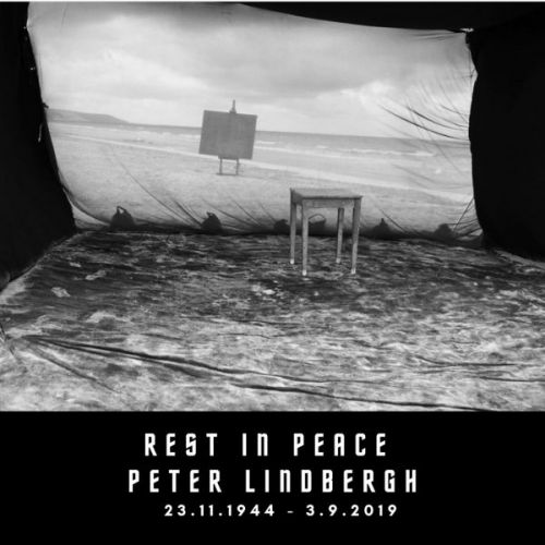 Rest in Peace Peter Lindbergh