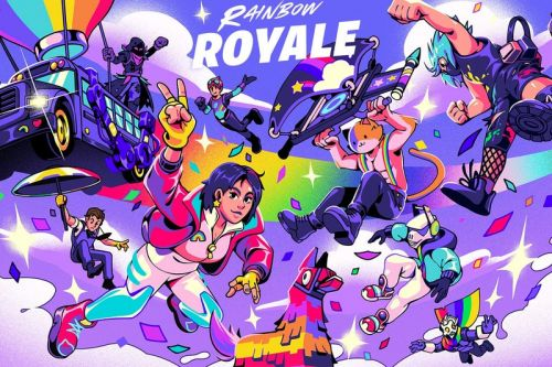 """'Fortnite' Announces Its First-Ever Pride Celebration Event """"Rainbow Royale"""""""