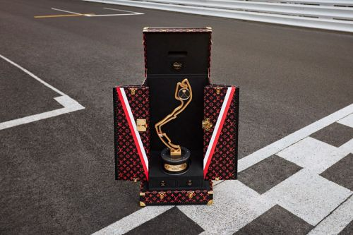 Louis Vuitton Debuts Official 2021 Monaco Grand Prix Trophy Travel Case
