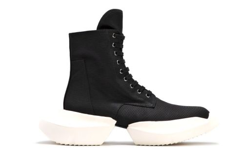 Rick Owens DRKSHDW's Stivali Army Sneaker Is Ready for Any City Street
