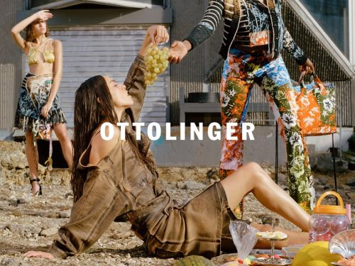 Ottolinger hosts a sexy fashion picnic in new campaign