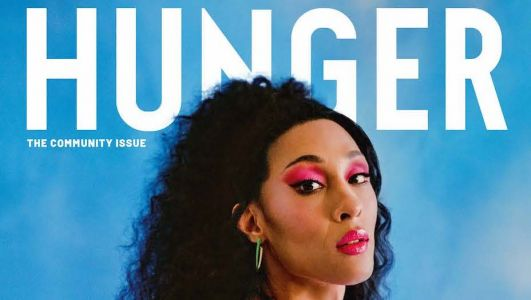MJ Rodriguez Covers HUNGER's Community Issue