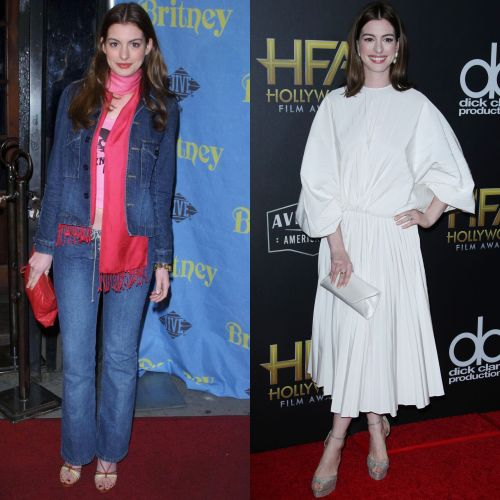 The Transformation Diaries: See How Much Anne Hathaway Has Changed Over the Years