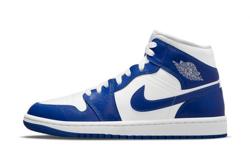 This New Air Jordan 1 Mid Is Perfect For Kentucky Wildcats Fans and Old School Nike Heads Alike