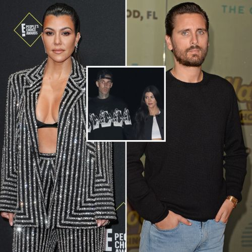 Kourtney Kardashian Has 'Firm Boundaries' for Scott Disick Amid Travis Barker Romance: 'It's What's Best'