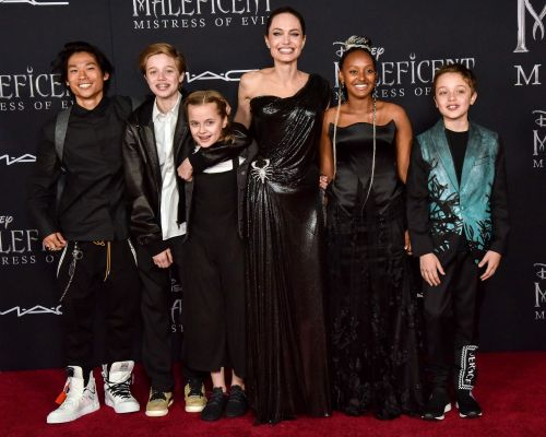 Angelina Jolie's Cutest Moments With Her Six Kids: Photos of the Supermom and Her Children