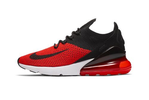 """Nike Drops the Air Max 270 in the Ever-Popular """"Bred"""" Color Scheme"""