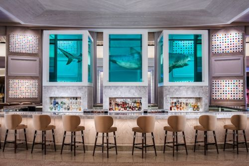 New Palms Casino Resort Spotlights Large-Scale Works of Damien Hirst, KAWS & More