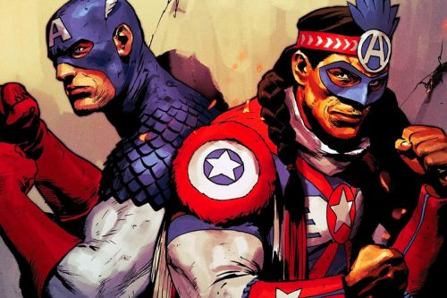 Marvel Comics' Newest 'Captain America' Is Joe Gomez of the Kickapoo Tribe