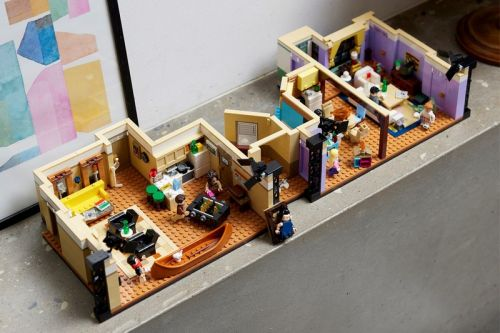 Look Forward to the 'Friends' Reunion With LEGO's Re-Creation of the Two Iconic Apartments