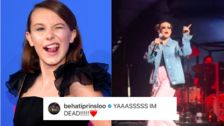 Millie Bobby Brown Crashes Maroon 5 Show With Surprise Cardi B Rap
