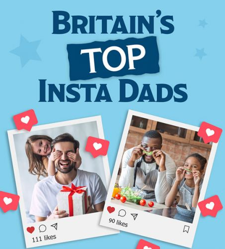 New ranking reveals the top UK locations where dads share family life Instagram content most