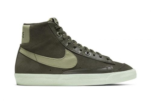 "Nike's Blazer Mid '77 Receives Understated ""Light Army"" Colorway"