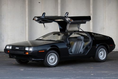 A 1981 DeLorean DMC-12 Gets Sold at Auction
