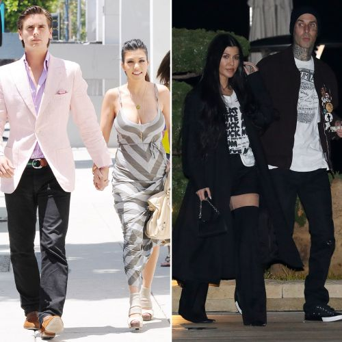 Rockstar Chic! Kourtney Kardashian's Style Evolution Since Dating Boyfriend Travis Barker