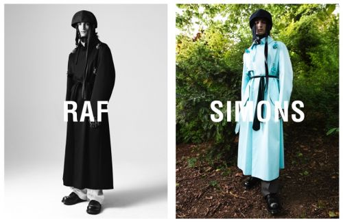 Luca Lemaire, Misha Natali + More Front Raf Simons Fall '19 Campaign