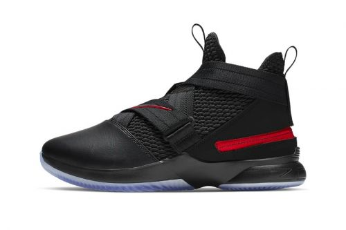 "Nike LeBron Soldier 12 Flyease Gets a ""Bred"" Makeover"