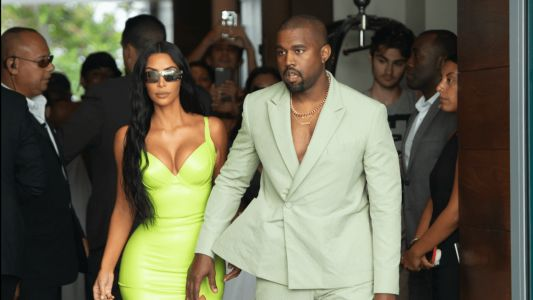 Kanye West Wore a Mint Green Suit From Virgil Abloh's Louis Vuitton Debut to 2 Chainz's Wedding