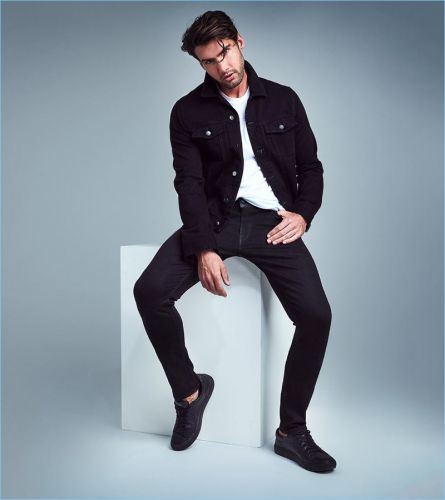 Mitchell Wick Stars in GUESS Denim Fit Guide