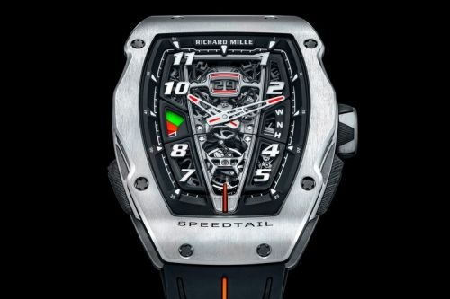 "Richard Mille Captures McLaren's Speedtail Hypercar in ""Hyper Watch"" Form"