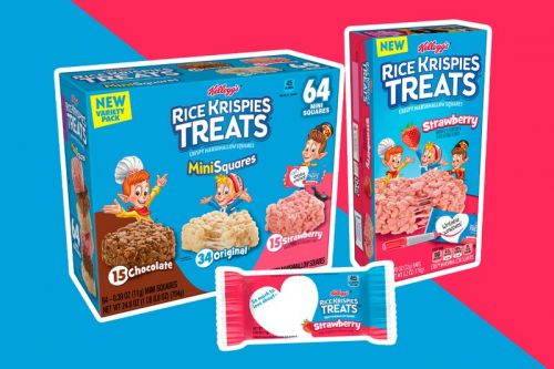 Kellogg's Is Bringing Back Strawberry-Flavored Rice Krispies Treats Just in Time for Summer