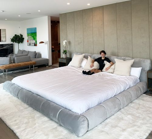 YouTuber David Dobrik's New Home Is Seriously Wild - Take a Tour of the Massive Mansion!