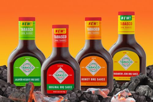 Tabasco Officially Launches Its First Line of BBQ Sauces