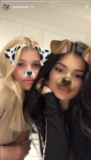 Sofia Richie and Kylie Jenner Have a Girls' Night In Together and It's Totally a Mood