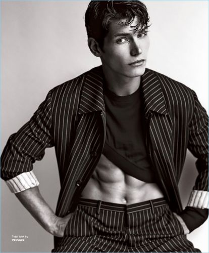 Daily Renaissance: Sam Way for Essential Homme