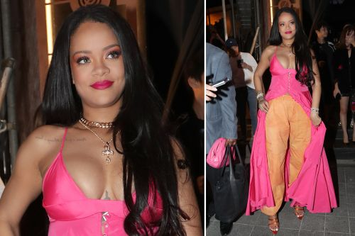 Rihanna's dress-pants combo is the latest trend we hate to see