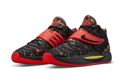 """Nike Celebrates KD and Kyrie's Friendship With This Nike KD 14 """"Ky-D"""" Colorway"""