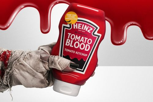HEINZ Releases a Limited-Edition Tomato Blood Costume Kit for Halloween