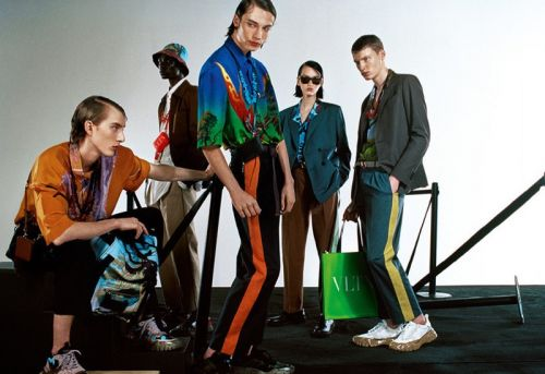 Freek, Braien + More Embrace Prints for Valentino Spring '20 Campaign
