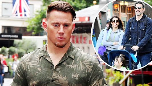 Channing Tatum 'Hit Hard' by Daughter Everly Spending Father's Day With Jenna Dewan's Boyfriend
