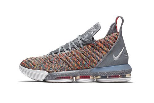 "Nike's LeBron 16 ""Multicolor"" Launches Next Month"