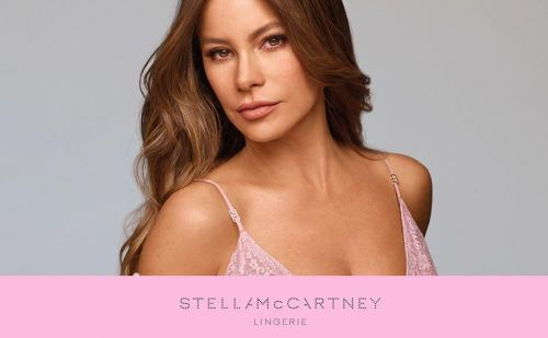 Stella McCartney teams with Sofia Vergara for lingerie campaign highlighting breast cancer awareness