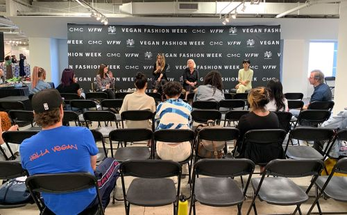 Vegan Fashion Week educates attendees with new 'The Future of Fashion' conference