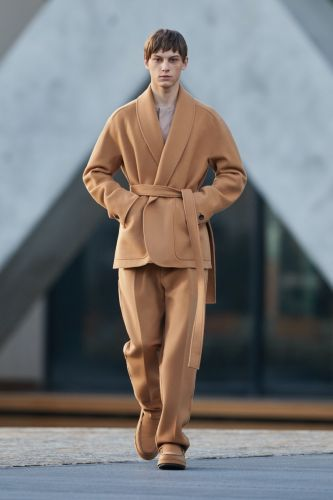 Ermenegildo Zegna Hits the set with Relaxed Shapes