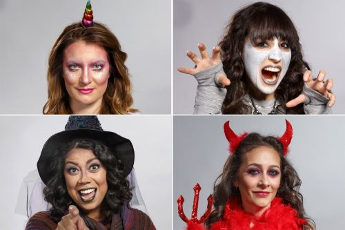 Tap your makeup bag to create these cool Halloween looks