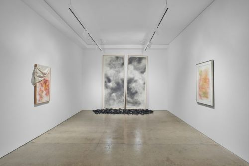 """David Hammons Unveils Thought-Provoking Works Made of """"Basketballs & Kool-Aid"""""""