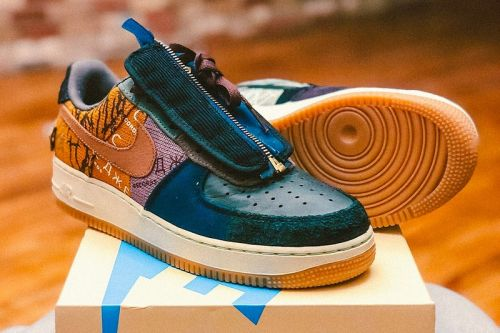 """Travis Scott's Nike Air Force 1 """"Cactus Jack"""" Comes With a Custom Box"""